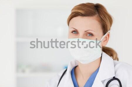 Médico jeringa médicos oficina femenino salud Foto stock © wavebreak_media