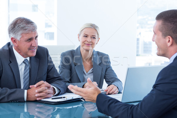Business people conducting an interview Stock photo © wavebreak_media
