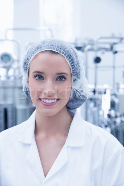 Retrato sorridente cientista cabelo com Foto stock © wavebreak_media