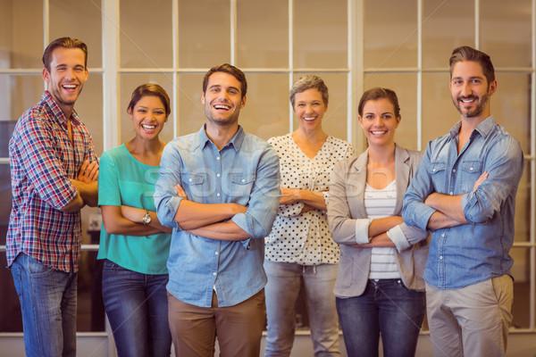 Creative business team looking at the camera Stock photo © wavebreak_media