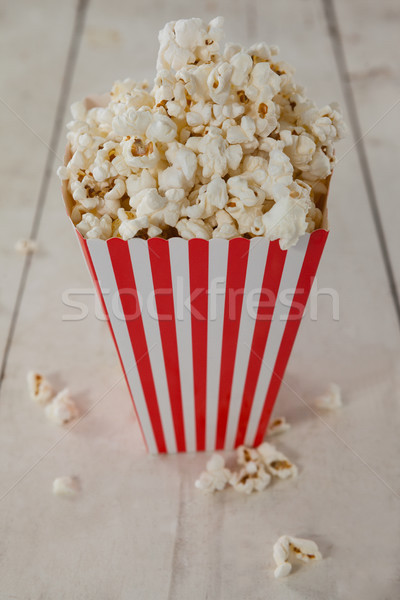 Close-up of popcorn with 4th july theme Stock photo © wavebreak_media