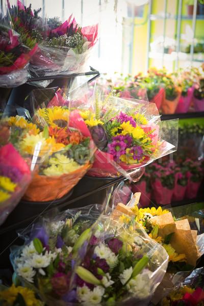 букет цветок шельфа цветы службе Сток-фото © wavebreak_media