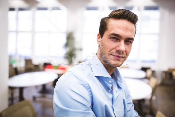 üzletember tárgyalóterem portré kreatív iroda férfi Stock fotó © wavebreak_media