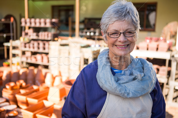 Femminile piedi ceramica workshop felice business Foto d'archivio © wavebreak_media