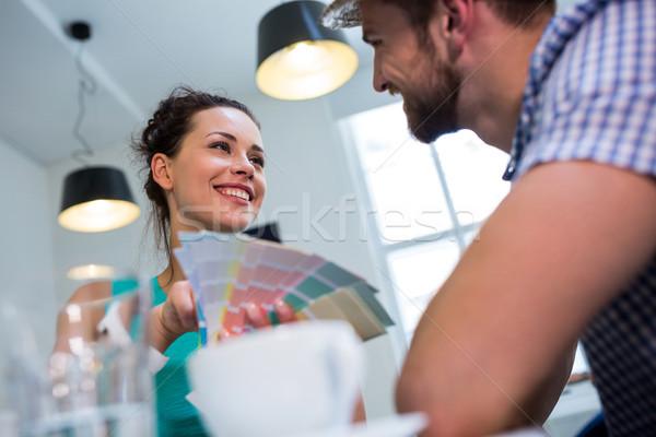 Gelukkig paar ander business liefde man Stockfoto © wavebreak_media