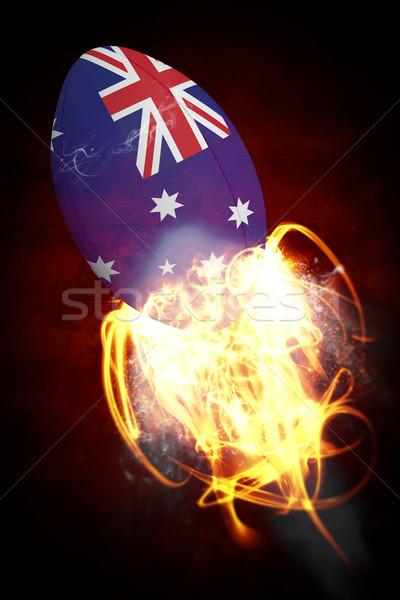 Afbeelding Australië donkere sport Stockfoto © wavebreak_media