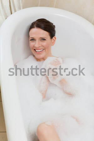 Ravi femme maison sexy Photo stock © wavebreak_media