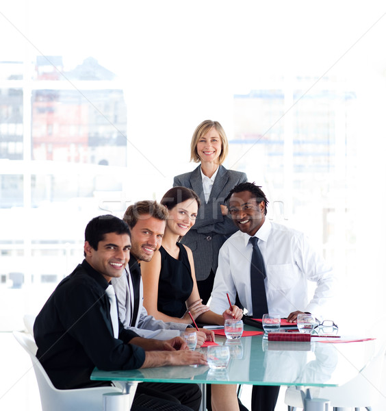 бизнес-команды заседание команда женщину Сток-фото © wavebreak_media