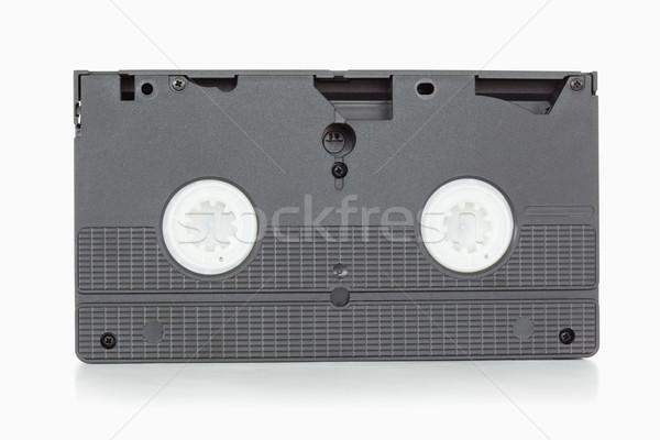 Indietro lato video nastro bianco televisione Foto d'archivio © wavebreak_media