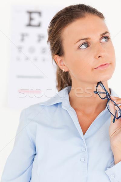 Occhi specialista occhiali chirurgia Foto d'archivio © wavebreak_media