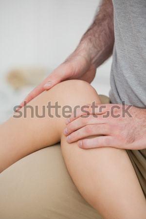 脚 大腿 ルーム 医師 医療 健康 ストックフォト © wavebreak_media