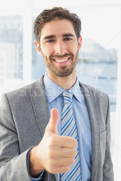 Empresário negócio escritório trabalhar trabalhador Foto stock © wavebreak_media