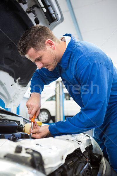 メカニック エンジン 修復 ガレージ サービス ストックフォト © wavebreak_media