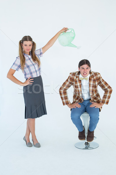 Vriendje witte man mode Stockfoto © wavebreak_media