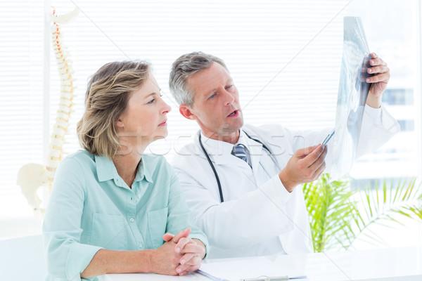 врач Xray пациент медицинской служба Сток-фото © wavebreak_media