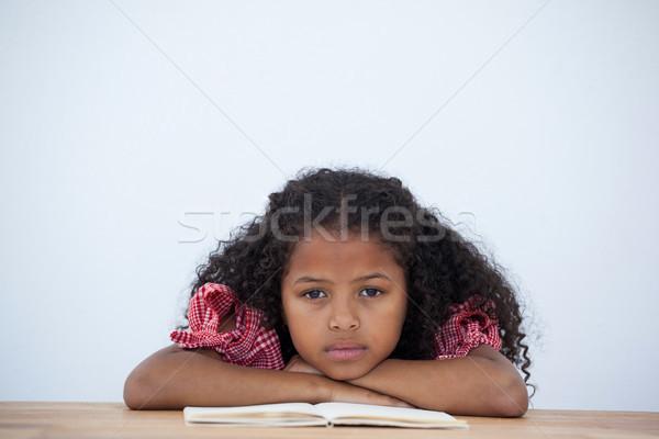 Portre işkadını büro beyaz Stok fotoğraf © wavebreak_media