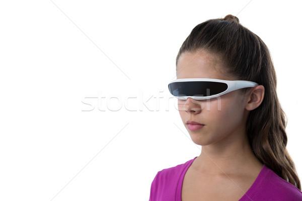 Virtuale realtà occhiali bianco comunicazione Foto d'archivio © wavebreak_media