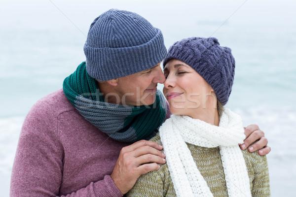 улыбаясь счастливым пару оба Сток-фото © wavebreak_media