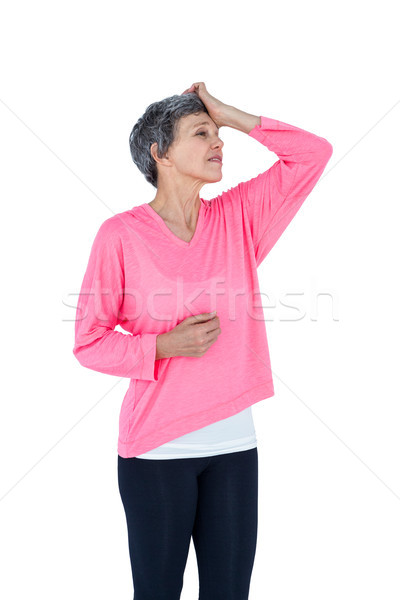 Mature woman suffering from headache Stock photo © wavebreak_media