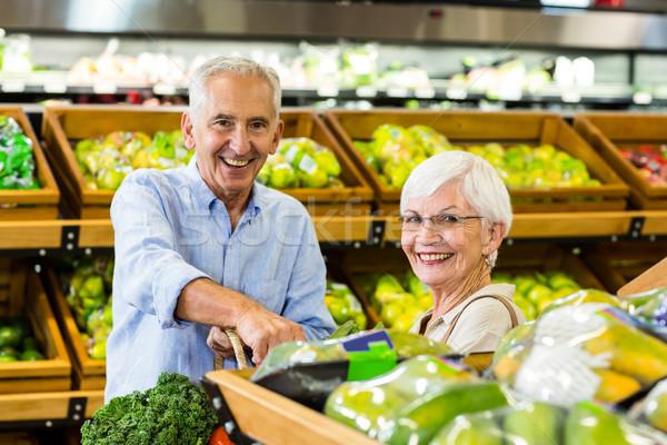 Senior couple doing some shopping together Stock photo © wavebreak_media