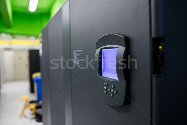 Biometric locks in server room Stock photo © wavebreak_media