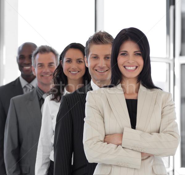 Vrouwelijke business leider jonge werk schoonheid Stockfoto © wavebreak_media