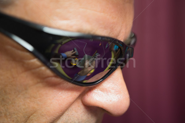 Man in sunglasses at casino Stock photo © wavebreak_media