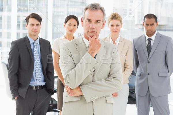 Diverse business team looking at camera Stock photo © wavebreak_media