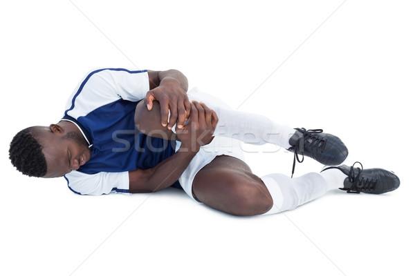 футболист раненый белый спорт футбола Сток-фото © wavebreak_media