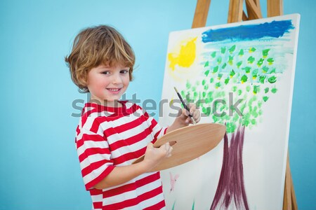 Mały chłopca krzesło stomatologicznych Zdjęcia stock © wavebreak_media