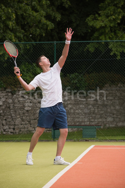 Jovem esportes fitness treinamento Foto stock © wavebreak_media