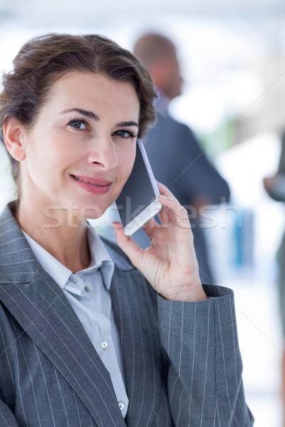 Equipo de negocios reunión oficina mujer gente de negocios de trabajo Foto stock © wavebreak_media