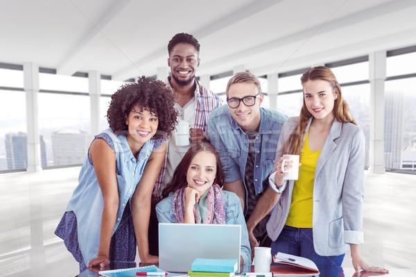 изображение моде студентов рабочих команда Сток-фото © wavebreak_media