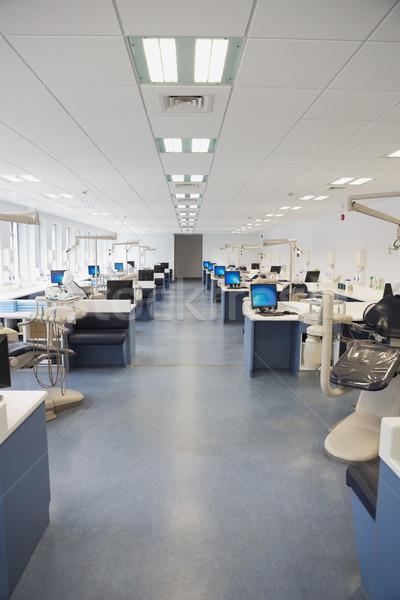 Empty dental clinic with many stations Stock photo © wavebreak_media