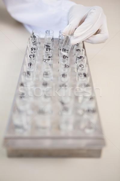 Cientista corpo laboratório médico tecnologia Foto stock © wavebreak_media