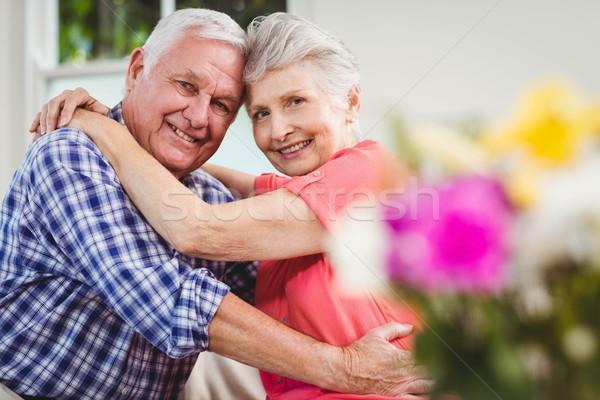 Senior couple embracing each other Stock photo © wavebreak_media