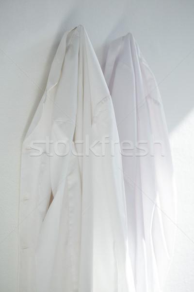 Colgante pared primer plano blanco limpio Foto stock © wavebreak_media