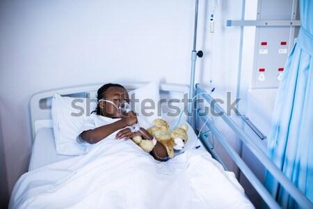 Patient undergoing CT scan test Stock photo © wavebreak_media