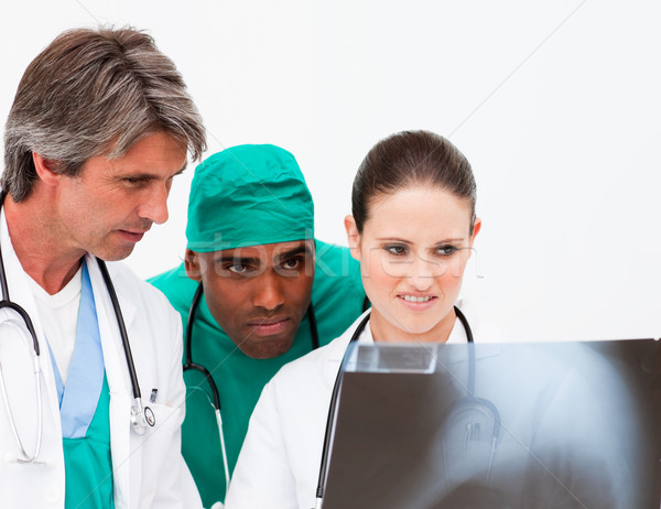 Сток-фото: медицинской · команда · Xray · больницу · врач