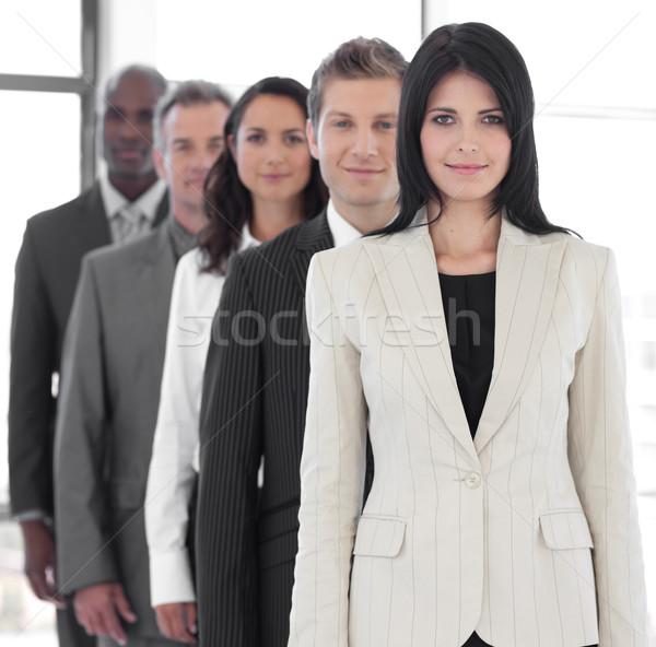 Kadın iş lider iş ekibi işadamı grup Stok fotoğraf © wavebreak_media