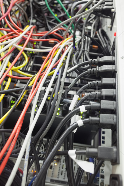 サーバー インテリア データセンター セキュリティ ネットワーク ソフトウェア ストックフォト © wavebreak_media