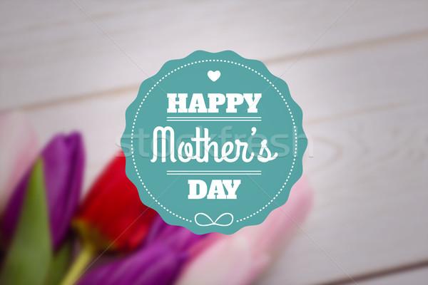 Obraz matki dzień powitanie tulipany Zdjęcia stock © wavebreak_media