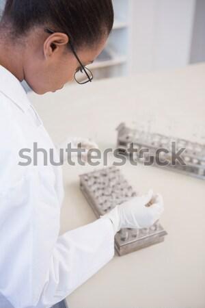 医師 調べる 血圧 女性 病院 女性 ストックフォト © wavebreak_media