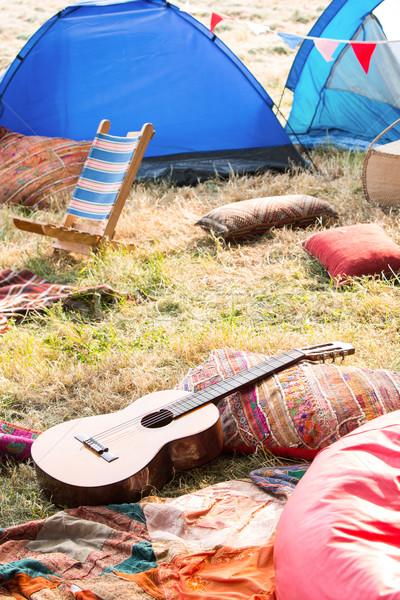 Vide festival de musique guitare été Photo stock © wavebreak_media
