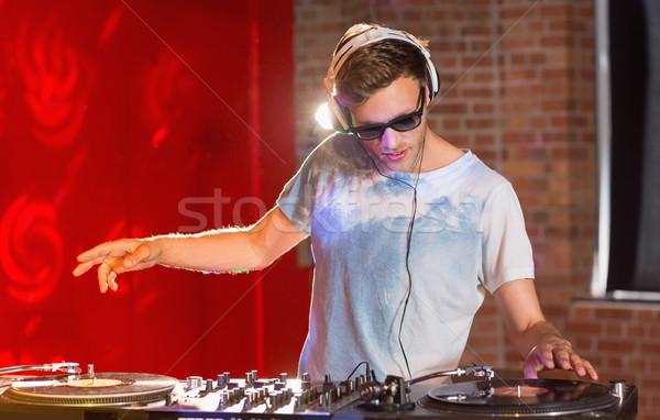 Cool musique fête bar nuit club Photo stock © wavebreak_media