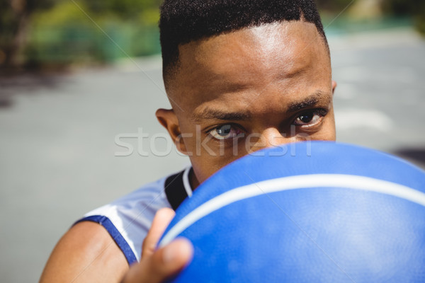 肖像 男性 代 バスケットボール ストックフォト © wavebreak_media
