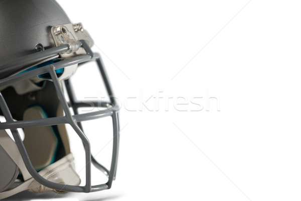 Imagem capacete branco esportes segurança bola Foto stock © wavebreak_media