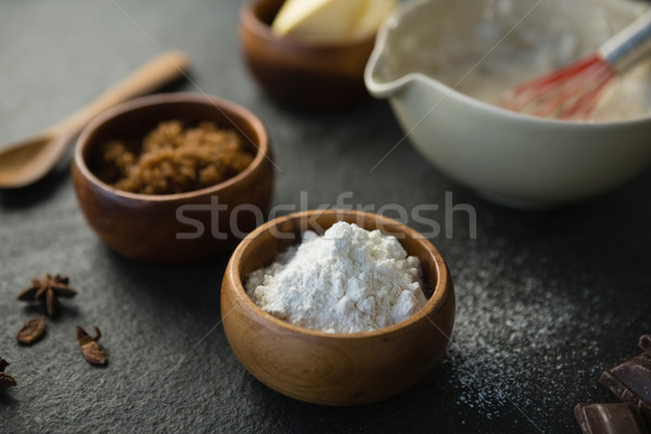 Close up of flour and grounded food Stock photo © wavebreak_media