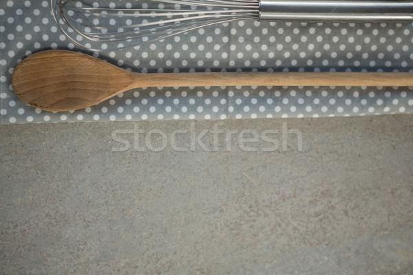 проволоки салфетку таблице Сток-фото © wavebreak_media