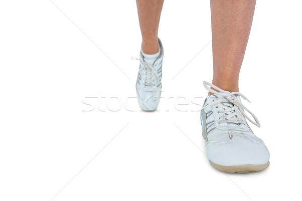 低い セクション 女性 着用 スポーツ 靴 ストックフォト © wavebreak_media